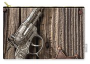 Toy Gun And Ranger Badge Carry-all Pouch