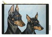 Toy Manchester Terriers Carry-all Pouch