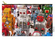 Toy Robots Carry-all Pouch