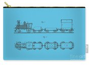 Toy Train Tee Carry-all Pouch
