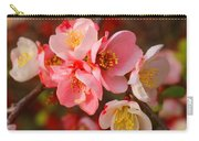 Toyo-nishiki Quince Blooms Carry-all Pouch