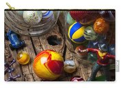 Toys And Marbles Carry-all Pouch by Garry Gay