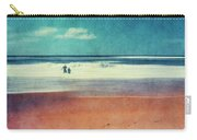 Traces In The Sand Carry-all Pouch