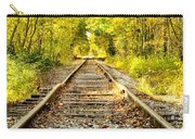 Track To Nowhere Carry-all Pouch by Greg Fortier