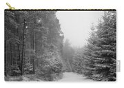 Track, Winter, Slaley Woods Carry-all Pouch