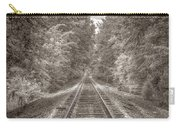 Tracks Bw Carry-all Pouch