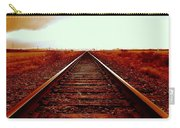 Marfa Texas America Southwest Tracks To California Carry-all Pouch