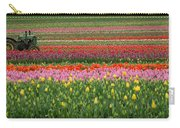 Tractor Among The Tulips Carry-all Pouch
