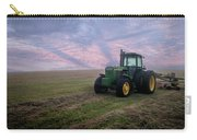 Tractor In A Field - Early Morning Carry-all Pouch