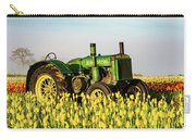 Tractor In A Field Carry-all Pouch