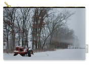 Tractor In The Fog Carry-all Pouch