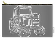 Tractor Transparent Carry-all Pouch
