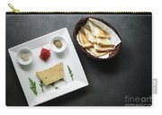 Traditional French Foie Gras Pate And Toast Starter Snack Platte Carry-all Pouch
