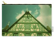 Traditional House Roth Germany Cross Process Holga Photography Carry-all Pouch