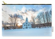 Traditional New England White Church Etna New Hampshire Carry-all Pouch