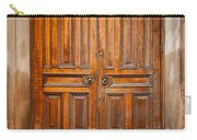 Traditional Wooden Door Carry-all Pouch