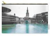 Trafalgar Square Fountain London 3 Carry-all Pouch