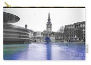 Trafalgar Square Fountain London 3d Carry-all Pouch