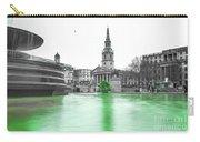 Trafalgar Square Fountain London 3f Carry-all Pouch