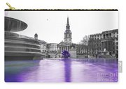 Trafalgar Square Fountain London 3g Carry-all Pouch