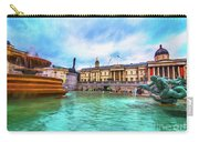 Trafalgar Square Fountain London 5 Art Carry-all Pouch