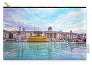 Trafalgar Square Fountain London 8 Carry-all Pouch