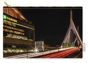 Traffic Racing Over Zakim Bridge Carry-all Pouch