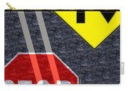 Traffic Signs Carry-all Pouch
