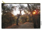 Trail At Sunrise Carry-all Pouch