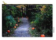 Trail Of 100 Jack-o-lanterns Carry-all Pouch