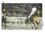 Field Racing Quote Carry-all Pouch