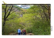 Trail To Waterfall In Vicente Perez Rosales National Park Near Puerto Montt-chile Carry-all Pouch
