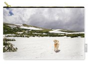 Traildog At Kingston Peak Snow Field Carry-all Pouch