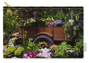 Trailer Full Of Flowers Carry-all Pouch
