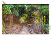 Trails Of Tracks Carry-all Pouch