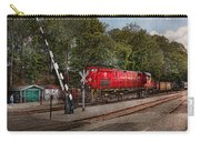 Train - Diesel - Look Out For The Locomotive  Carry-all Pouch by Mike Savad