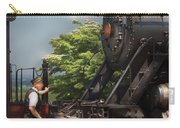 Train - Engine - Alllll Aboard Carry-all Pouch by Mike Savad