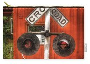 Train - Yard - Railroad Crossing Carry-all Pouch