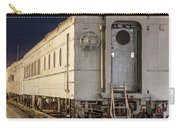 Train Car And Tracks Carry-all Pouch