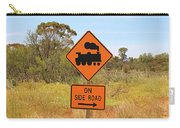 Train Engine Locomotive Sign Carry-all Pouch