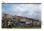 Train - Engine - Nickel Plate Road Carry-all Pouch by Mike Savad