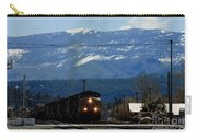 Train Entering Truckee California Carry-all Pouch