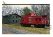 Train - Erie Rr Line Caboose Carry-all Pouch