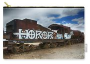 Train Graveyard Uyuni Bolivia 13 Carry-all Pouch