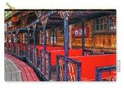 Train In Amusement Park Carry-all Pouch by Gunter Nezhoda