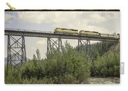 Train On Trestle Carry-all Pouch