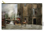 Train Station - Look Out For The Train 1910 Carry-all Pouch