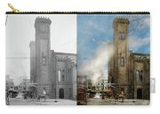 Train Station - Look Out For The Train 1910 - Side By Side Carry-all Pouch