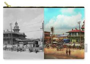 Train Station - Louisville And Nashville Railroad 1912- Side By Carry-all Pouch