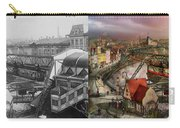 Train Station - Wuppertal Suspension Railway 1913 - Side By Side Carry-all Pouch